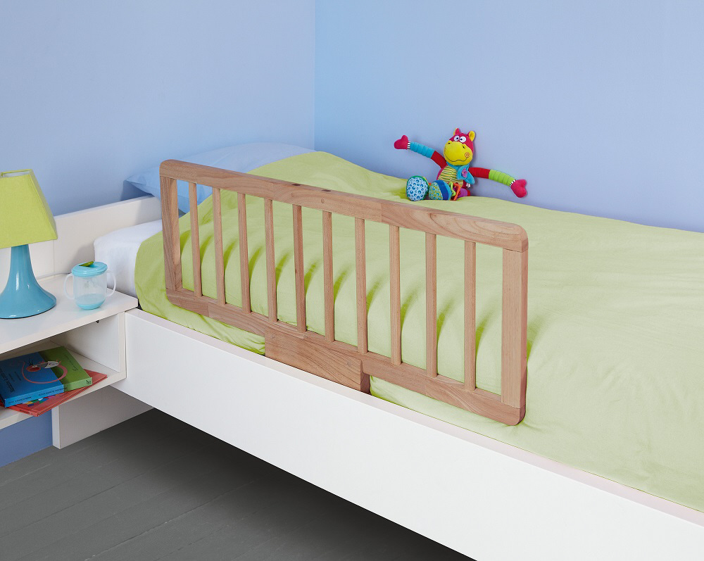 Safety 1st quiet night wooden bed rail natural wood 2014 - Barrera cama madera ...