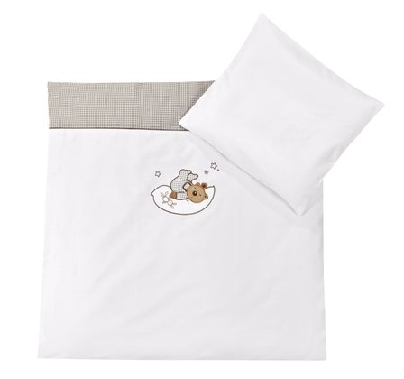 Zöllner Bedding set with appliqués, Bear in the Stars 2015 - large image