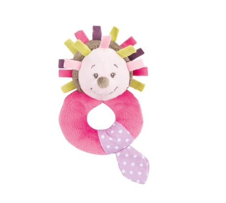 Nattou clutching toy Manon - The Nattou grasp toy Manon the hedgehog the promotes motor skills of your treasure