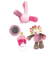 Nattou mini mobile Manon - The Nattou Mini Mobile Manon is particularly soft and accompanies your sweetheart gently to sleep