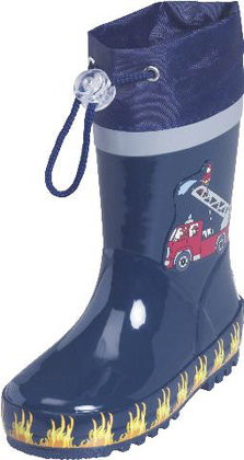 Playshoes rubber boots, fire fighters 2014 - large image