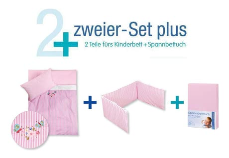 Zöllner Bettset – Zweier Set Plus, Butterflies 2014 - Großbild
