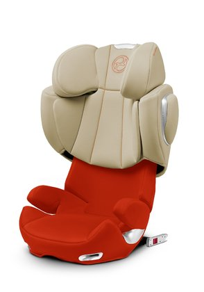 Детское автокресло Cybex Solution Q2-fix Autumn Gold burnt red 2015 - большое изображение