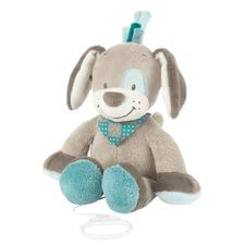 Nattou musical toy Cyril -  The Nattou music box Cyril has a size of about 32 cm and brings your sweetheart with the La -Le- Lu-melody gently to sleep
