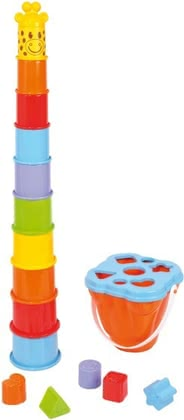 SpielMaus stacking tower with a sorting function 2015 - large image