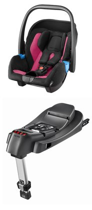 Recaro Infant carrier Privia incl. base Recarofix -  The Recaro baby car seat Privia offers you and your favorite in combination with the base Recarofix absolute security