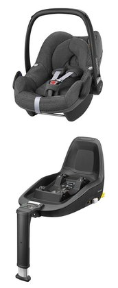 Maxi-Cosi Pebble incl. 2WayFix -  The Maxi-Cosi Pebble baby car seat offers you and your favorite in combination with the 2WayFix a maximum of safety and comfort