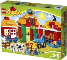 LEGO Duplo Big Farm -  The LEGO Duplo Big Farm consists of 121 parts and is suitable for your favorite from the age of 2 years