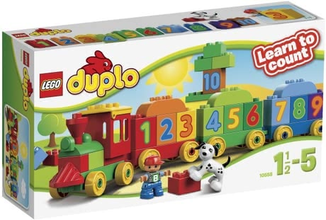 LEGO Duplo Number Train -  With the LEGO Duplo number train to learn counting will be a pleasure