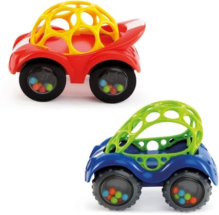 Oball 玩具汽車 Rattle & Roll -  The Oball Rattle & Roll is suitable for your favorite from 3 months of age and provides loads of fun