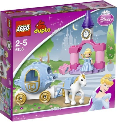 LEGO Duplo Cinderella's Princess Carriage 2014 - large image