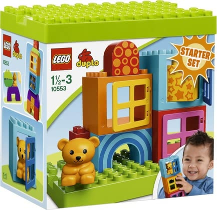 LEGO Duplo building and playing cube 2014 - large image