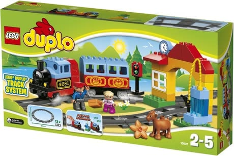 LEGO Duplo Train Starter Set -  The LEGO Duplo Train Starter Set is perfect for beginners small train driver
