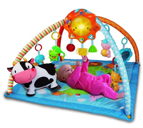 VTech 彩色遊戲墊 -  The VTech Colorful play mat offers your favorite sorts of fun and entertainment