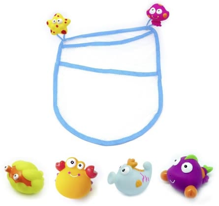 Underwater world with storage net -  The cute bathing animals provide plenty of swimming fun and are supplied in a practical storage net