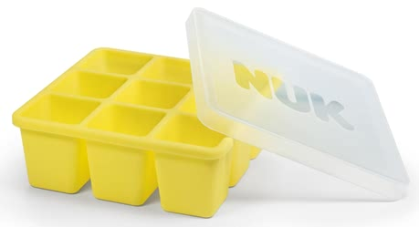 NUK Fresh Foods 冷凍模 -  * The NUK freezer tray is an innovative shape for freezing freshly-prepared baby food: It is divided into nine little cubes, each holding 60ml.