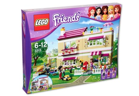 LEGO Friends Dream house 2014 - Image de grande taille