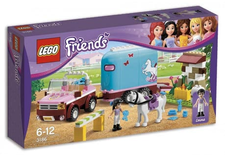 LEGO Friends Off-road vehicle with Horse trailer 2014 - 大圖像