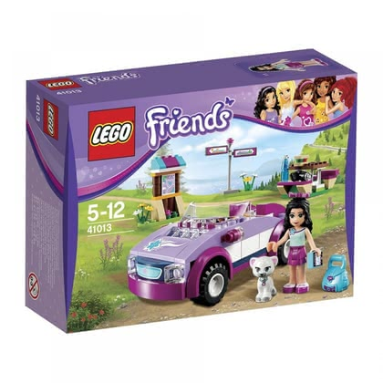LEGO Friends Emma´s sports car 2014 - Imagen grande