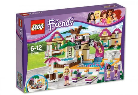 LEGO Friends Large Swimming pool 2014 - Imagen grande