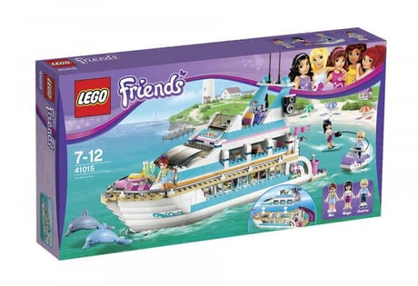 LEGO Friends Yacht 2016 - large image