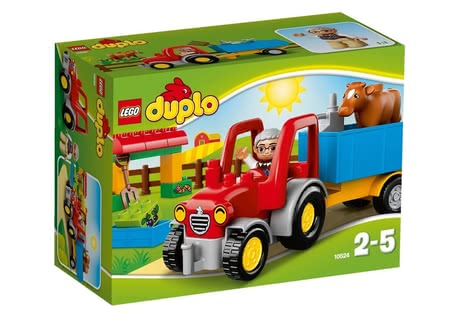 Lego Duplo 樂高牽引機 - Every farm need to have the LEGO Duplor Tractor.