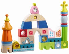 Haba Building blocks Seville - What colorful building fun for your little explorers and inventors!
