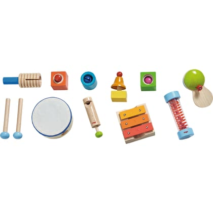 Haba Music-Making Set -  * Your little sound artist will find many interesting instruments in the amazing and versatile music-making set by Haba.
