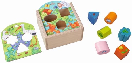 Haba Shape sorting box Animals 2017 - large image