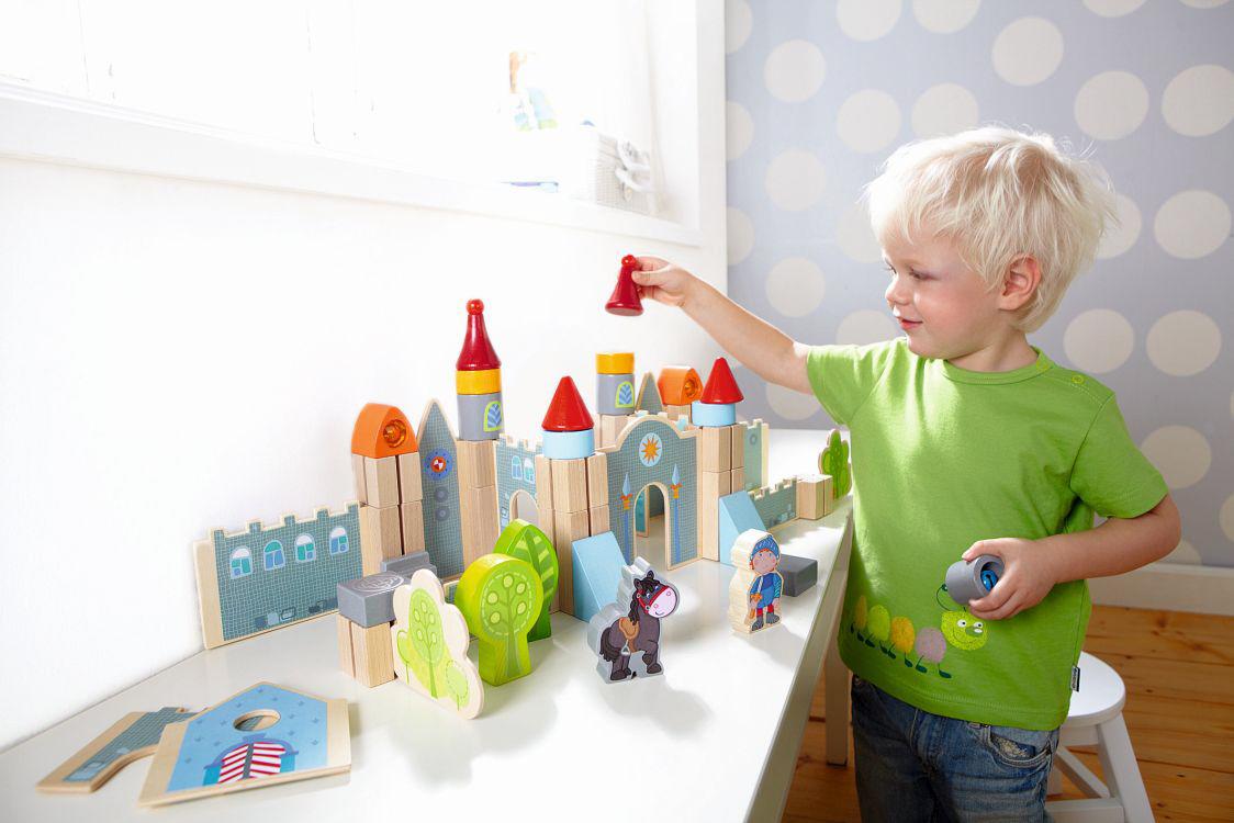 haba spiel bausteine gro e ritterburg 2017 online kaufen bei kidsroom spielzeug spielzeug. Black Bedroom Furniture Sets. Home Design Ideas