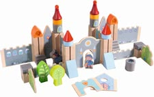Haba Play blocks Big Knight's Castle - Armor on and off you go... Your little Darling can build a huge castle with lots of imagination.