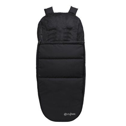 Cybex Foot muff - The Cybex Footmuff consists of easy-care functional materials and protect your treasure against wind and weather.