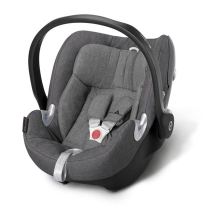 Cybex Platinum Infant Carrier Aton Q Plus Manhattan Grey - mid grey 2018 - Image de grande taille