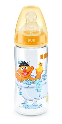 NUK Sesame Street FIRST CHOICE+ baby bottle, 300ml gelb 2015 - large image