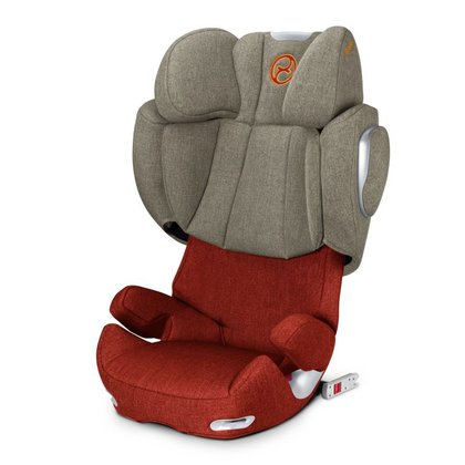 Cybex Child car seat Solution Q2-Fix Plus Autum Gold - burnt red 2015 - large image