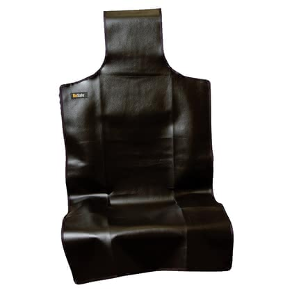 BeSafe kick-protection cover in leather effect - The BeSafe impact protection keeps the backrest of your seat clean.
