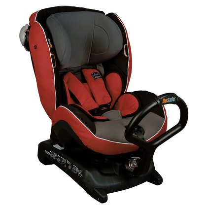 BeSafe Rear-facing child car seat iZi Combi X3 Isofix Red Grey 2015 - large image