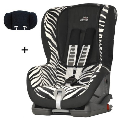 Britax Römer Child car seat Duo Plus Trendline incl. head support Smart Zebra 2016 - large image