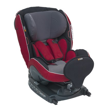 BeSafe Reboard-Kindersitz iZi Kid Red Grey 2014 - Großbild
