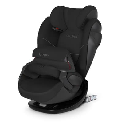 Cybex Kindersitz Pallas M-Fix Pure Black - black 2019 - Großbild