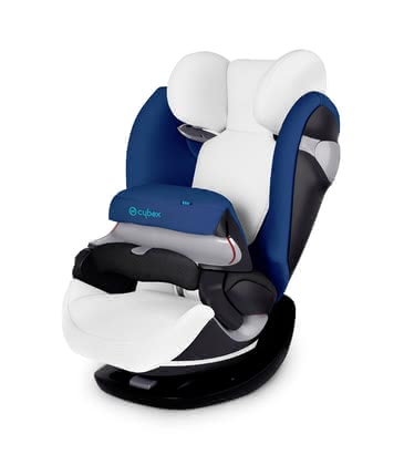 Cybex Summer cover for child car seat Pallas M & Solution M - Our Cybex summer cover absorbs heat and is a perfect accessory for the summer.