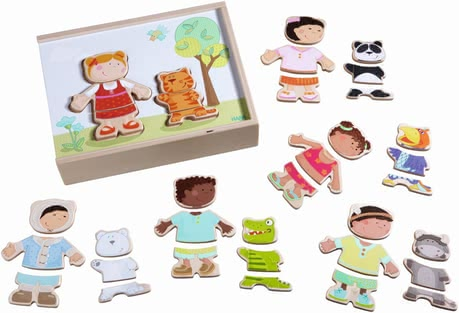 Haba Wooden puzzle Children of the World - Sensational puzzle fun with many variation possibilities arises with this sturdy wooden puzzle of the company HABA.
