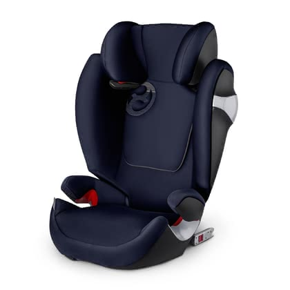 Детское автокресло CYBEX  Solution M-Fix Midnight Blue - navy blue 2017 - большое изображение