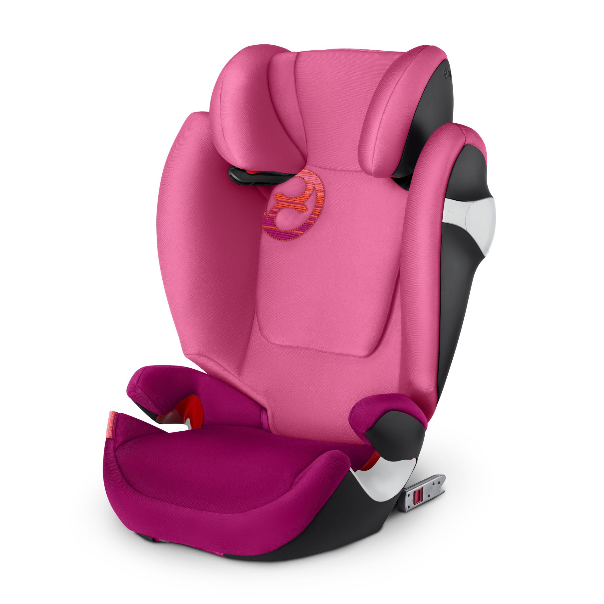 Cybex Silla de coche Solution M Fix Pink Passion purple