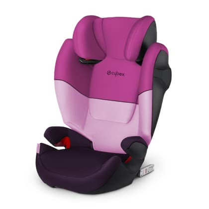Детское автокресло CYBEX Solution M-Fix Purple Rain - purple 2019 - большое изображение