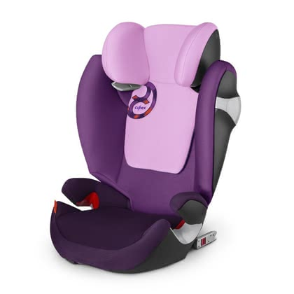 Детское автокресло CYBEX Solution M-Fix Grape Juice - purple 2015 - большое изображение