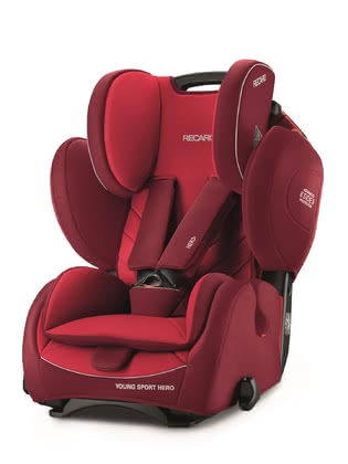 RECARO Kindersitz Young Sport HERO Indy Red 2018 - Großbild