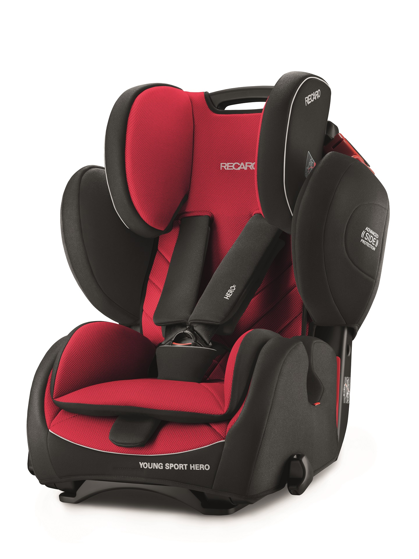 Si ge enfant young sport hero par recaro 2018 racing red for Siege enfant