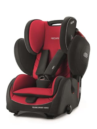 RECARO Kindersitz Young Sport HERO Racing Red 2017 - Großbild