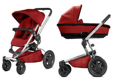 Quinny Buzz Xtra 4 including Dreami carrycot attachment Red Rumour 2017 - large image
